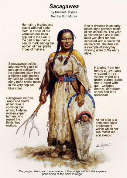 The Faces Of Sacagawea