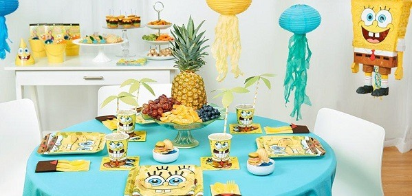 Diy Spongebob Party Games & Ideas