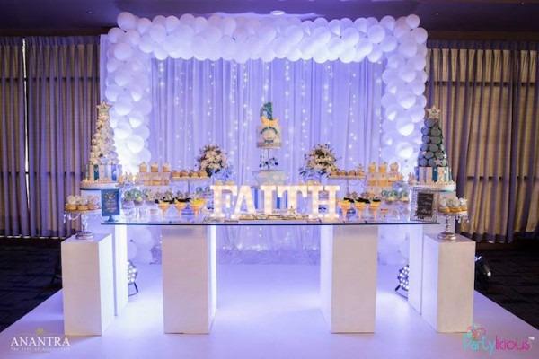 Kara's Party Ideas Stars And Moon Birthday Party