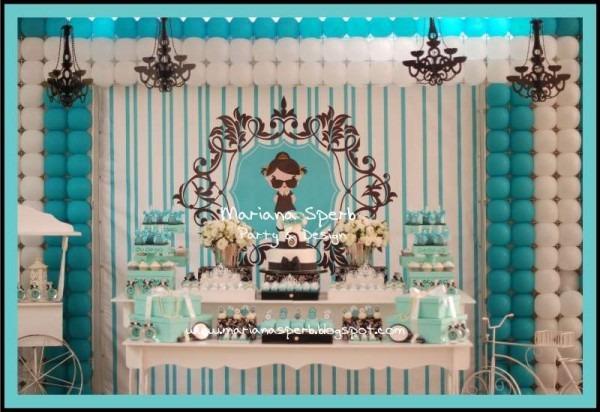 Tiffany's & Co, Breakfast At Tiffany's Birthday Party Ideas