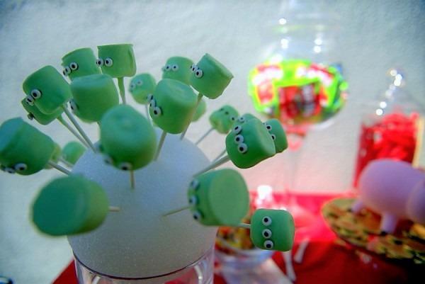 Toy Story Aliens Marshmallow Pops