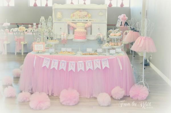 Kara's Party Ideas Tutus & Ties Fourth Birthday Party