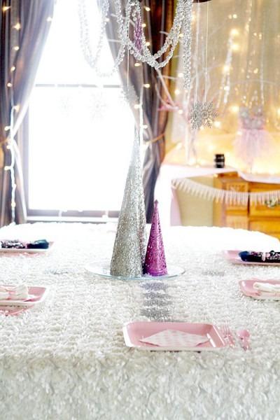 Winter Onederland Snow Princess Birthday Party