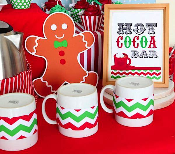 Kara's Party Ideas Christmas Sweet Shop Girl Boy 1st Birthday