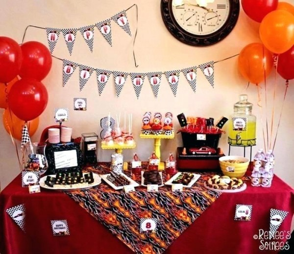 Car Themed Birthday Party For 2 Year Old
