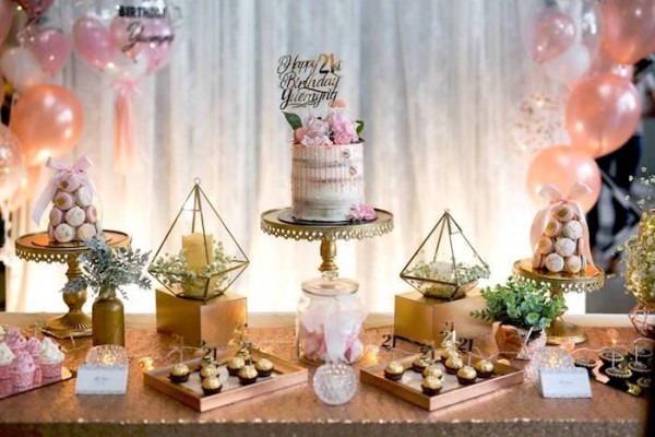 Elegant 21st Birthday Party