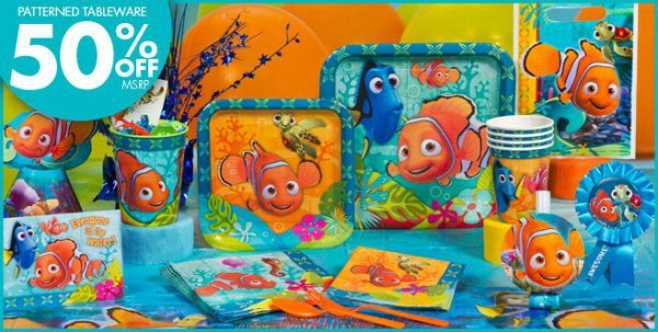 Finding Nemo Party Supplies & Birthday Decorations