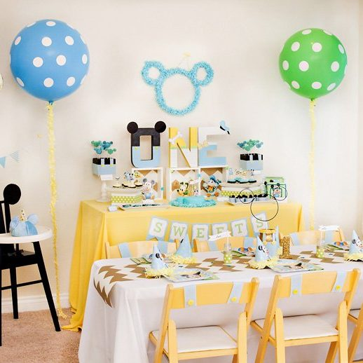 Unique 1 Year Old Birthday Party Ideas