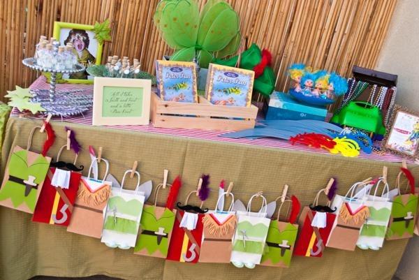 Kara's Party Ideas Disney's Peter Pan Boy Decorations 4th Birthday