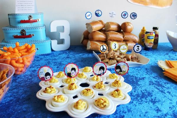 Kara's Party Ideas The Beatles Inspired Music Rock Star 60s