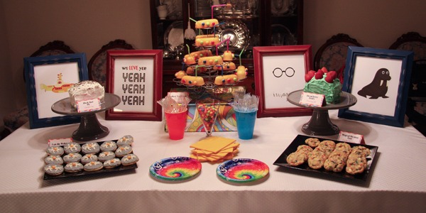 Beatles Themed Party Food – Unique Birthday Party Ideas And Themes