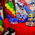 Justice League Themed Birthday Party