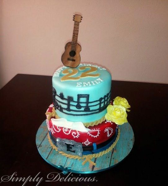 Country Music Themed Birthday Party