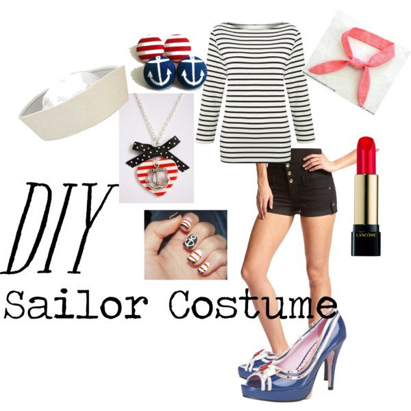 Diy Sailor Costume  By Lmgrisez On Polyvore