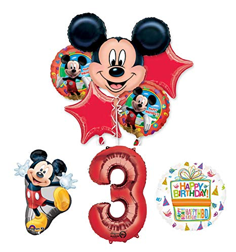 Amazon Com  The Ultimate Mickey Mouse 3rd Birthday Party Supplies