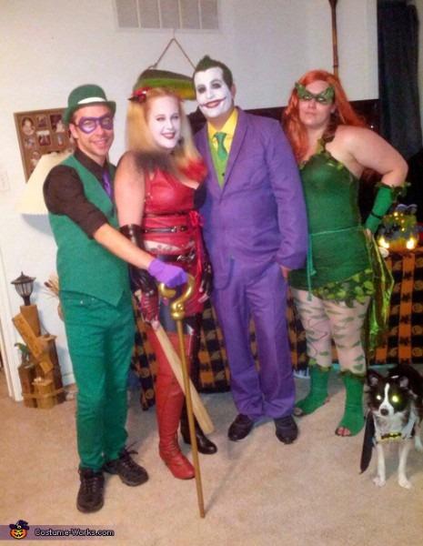 Batman Villains Group Halloween Costume Idea