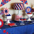 Fourth Of July Themed Birthday Party