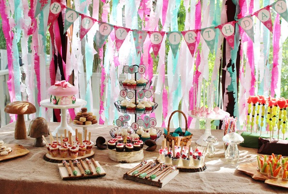 Fly On Over To Check Out This Woodland Fairy Birthday Party