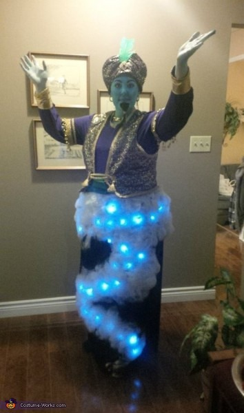 Creative Diy Genie Costume