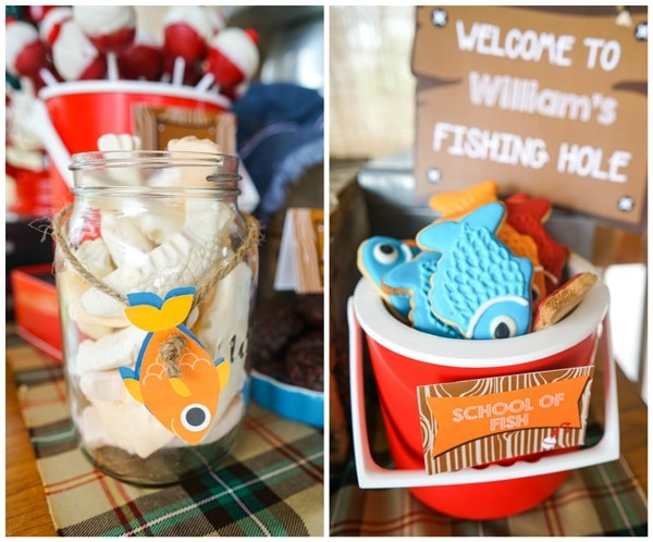 Adorable Boys Gone Fishing Party