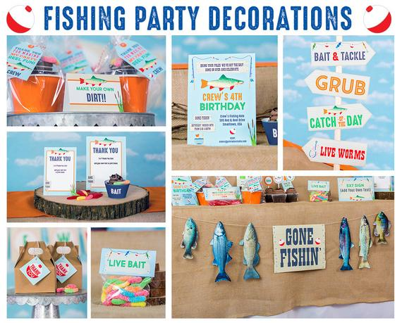 Fishing Party Decorations
