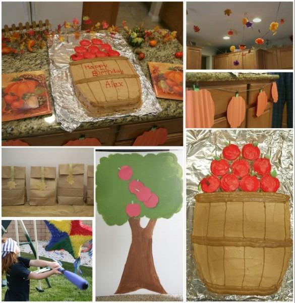 November Themed Birthday Ideas