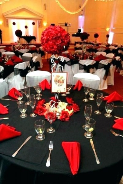 Red Black And Gold Party Ideas Mycoffeepot Org