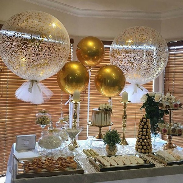 Gold Themed Party Ideas