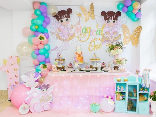 Kara's Party Ideas Whimsical Fairy Birthday Party
