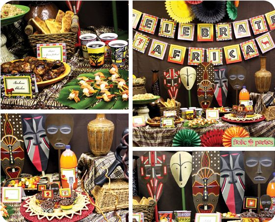 African Safari Party Decoration Ideas
