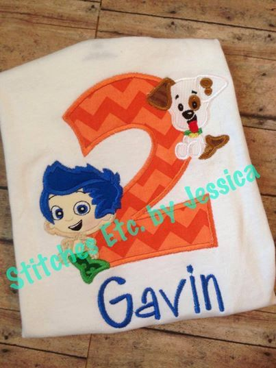 Bubble+guppies+birthday+shirt+by+shopstitchesetc+on+etsy,+$18 00