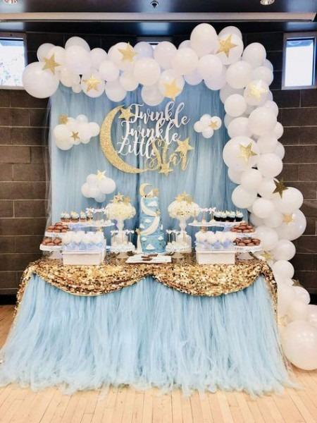 Twinkle Little Star Baby Shower Party Ideas In 2019