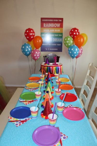 Over The Rainbow Birthday Party Ideas In 2019