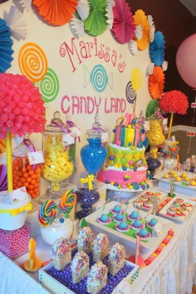 Superb Kids Party Candy Table Interior Design Ideas Clesiryabchikinfo