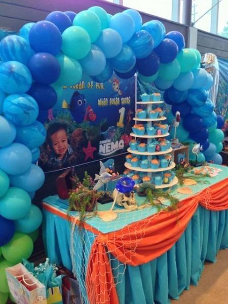 Finding Nemo Theme Birthday Party Ideas