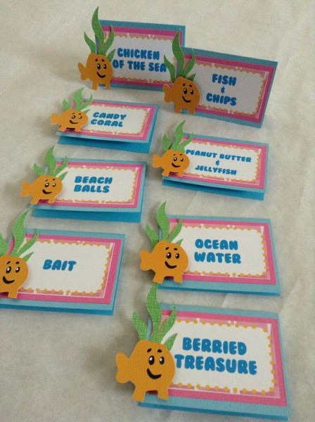 Bubble Guppies Food Labels By Divadecorations On Etsy