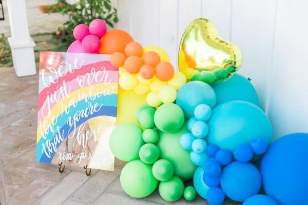 Kara's Party Ideas Over The Rainbow Birthday Party