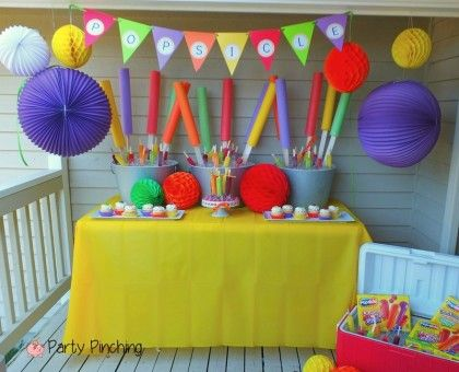 Popsicle Pool Noodles Party Planning Party Ideas